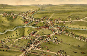 Vintage Map of North Berwick amine