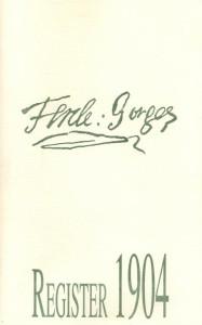 Register of  1904
